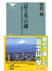 「富士見」の謎 一番遠くから富士山が見えるのはどこか?