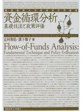 資金循環分析 基礎技法と政策評価