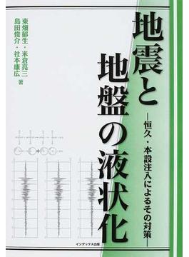 地震と地盤の液状化 恒久・本設注入によるその対策