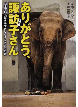 ありがとう、諏訪子さん 日本でいちばん長生きしたインドゾウの話