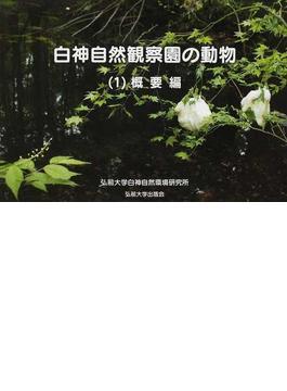 白神自然観察園の動物 1 概要編
