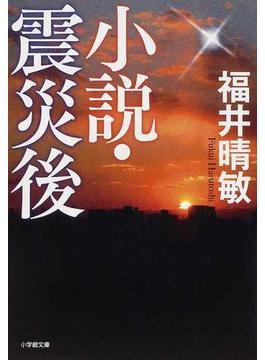 小説・震災後(小学館文庫)