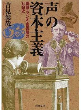 「声」の資本主義 電話・ラジオ・蓄音機の社会史(河出文庫)