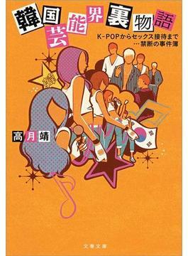 韓国芸能界裏物語 K-POPからセックス接待まで…禁断の事件簿(文春文庫)