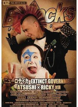 Bollocks PUNK ROCK ISSUE NO.12(2014February) ニューロティカ/エクスティンクト・ガバメント/マイケル・モンロー/アスタ・カスク