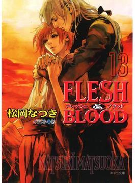 FLESH & BLOOD13(キャラ文庫)
