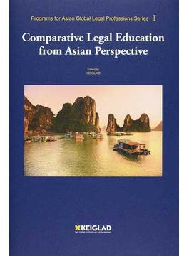 Comparative Legal Education from Asian Perspective