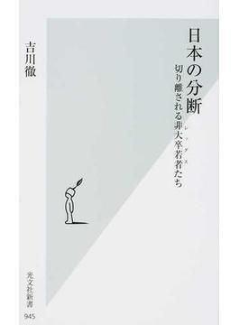 日本の分断 切り離される非大卒若者たち(光文社新書)