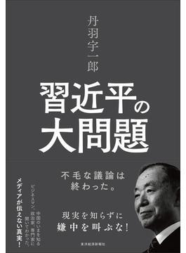丹羽宇一郎 習近平の大問題 不毛な議論は終わった。