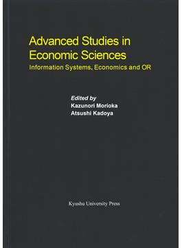Advanced Studies in Economic Sciences Information Systems,Economics and OR