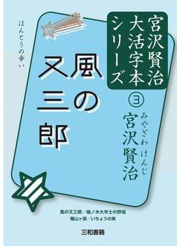 宮沢賢治大活字本シリーズ 3 風の又三郎