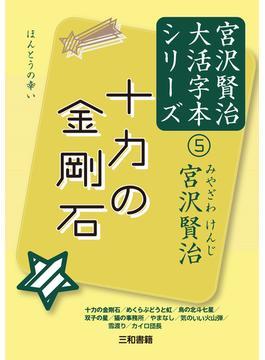 宮沢賢治大活字本シリーズ 5 十力の金剛石