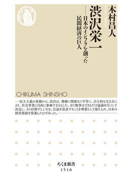 渋沢栄一 日本のインフラを創った民間経済の巨人(ちくま新書)