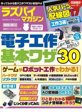 ラズパイマガジン 2020年10月号(日経BPパソコンベストムック)