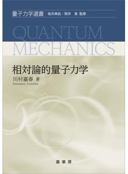 相対論的量子力学(「量子力学選書」シリーズ)