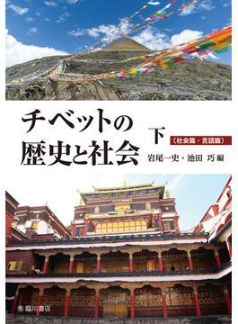 チベットの歴史と社会 下 社会篇・言語篇