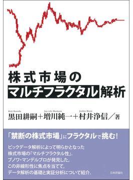株式市場のマルチフラクタル解析