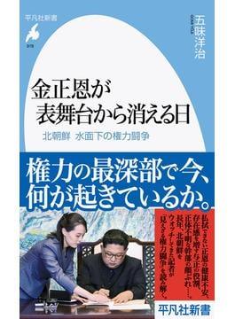 金正恩が表舞台から消える日 北朝鮮水面下の権力闘争(平凡社新書)
