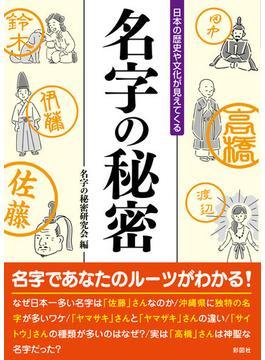 名字の秘密 日本の歴史や文化が見えてくる