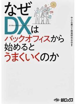 なぜDXはバックオフィスから始めるとうまくいくのか