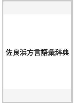 佐良浜方言語彙辞典