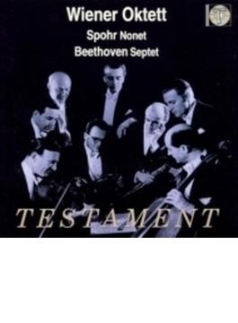 ベートーヴェン:七重奏曲、シュポア:九重奏曲 ウィーン八重奏団