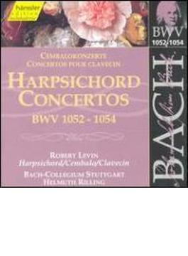 Harpsichord Concertos.1-3: Levin(Cemb)rilling / Bach Collegium Stuttgart