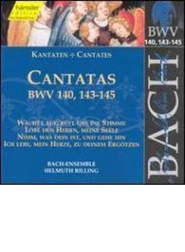 Cantatas.140, 143-5: Rilling / Bach Collegium Stuttgart