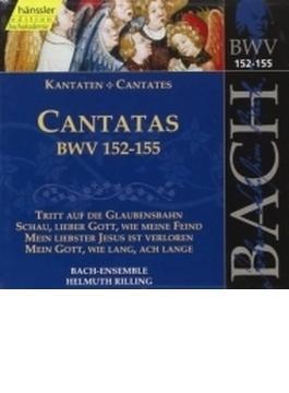 Cantatas.152-155: Rilling / Bachcollegium Stuttgart