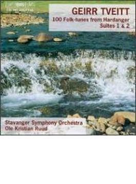 Tveitt: 100 Folk Tunes From Hardanger