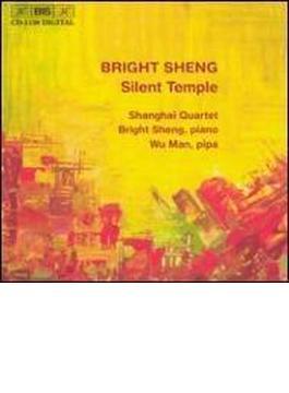 String Quartet.3, 4, Etc: Shanghai.q, Sheng(P)wu Man(Pipa)