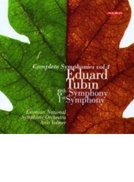 交響曲第1番、第8番 アルヴォ・ヴォルマー&エストニア国立交響楽団