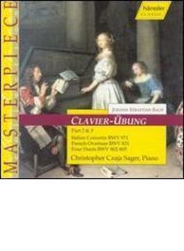 Italian Concerto, French Overture, 4 Duetti: Czaja Sager(P)