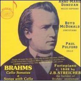 Cello Sonatas.1, 2: Pulford(Vc)mcdonald(Fp)