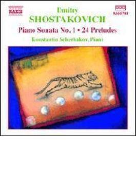 ピアノ・ソナタ第1番/24の前奏曲/他 シェルバコフ