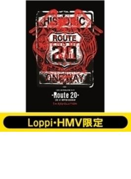 《Loppi・HMV限定 タンブラー付きセット》 T.M.R.  LIVE REVOLUTION'16-'17 -Route 20-  LIVE AT NIPPON BUDOKAN 【初回生産限定盤】(2DVD+CD)