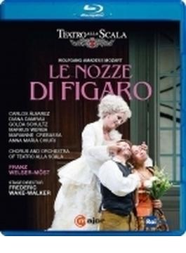 『フィガロの結婚』全曲 ウェイク=ウォーカー演出、ヴェルザー=メスト&スカラ座、C.アルバレス、ダムラウ、他(2016 ステレオ)(日本語字幕付)(日本語解説付)